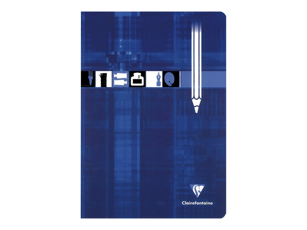 Clairefontaine - Cahier de dessin A4 (21x29,7 cm) - 32 pages blanches