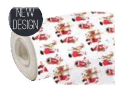 Clairefontaine Eurowrap - Papier cadeau - 70 cm x 50 m - 60 g/m² - différents motifs Santa
