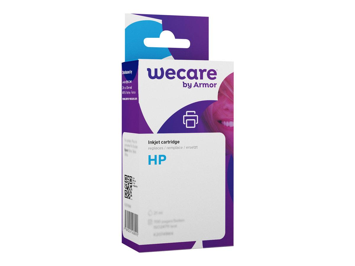 HP 350XL - remanufacturé Wecare K20254W4 - noir - cartouche d'encre