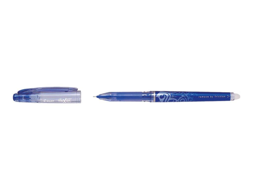 Frixion Pilot - Pack de 12 - rollers effaçables  - 0,5mm - bleu
