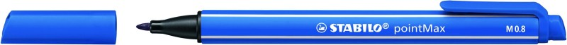 STABILO pointMax - Feutre d'écriture - pointe moyenne - bleu outremer