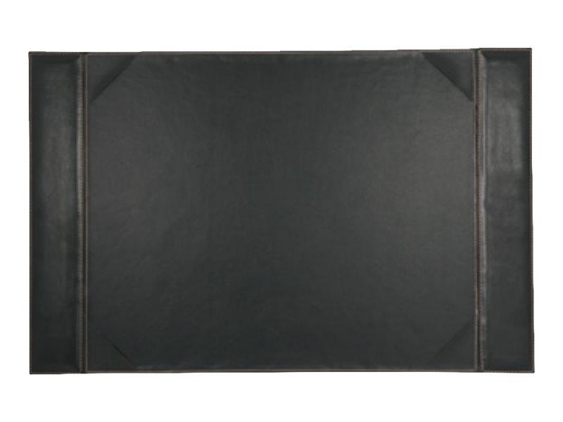 Carpentras Sign Elyane - Sous-main faux cuir - 45 x 70 cm - brun