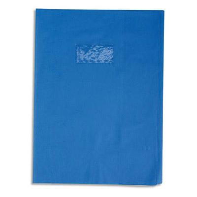 Calligraphe - Protège cahier sans rabat - A4 (21x29,7 cm) - grain losange - bleu