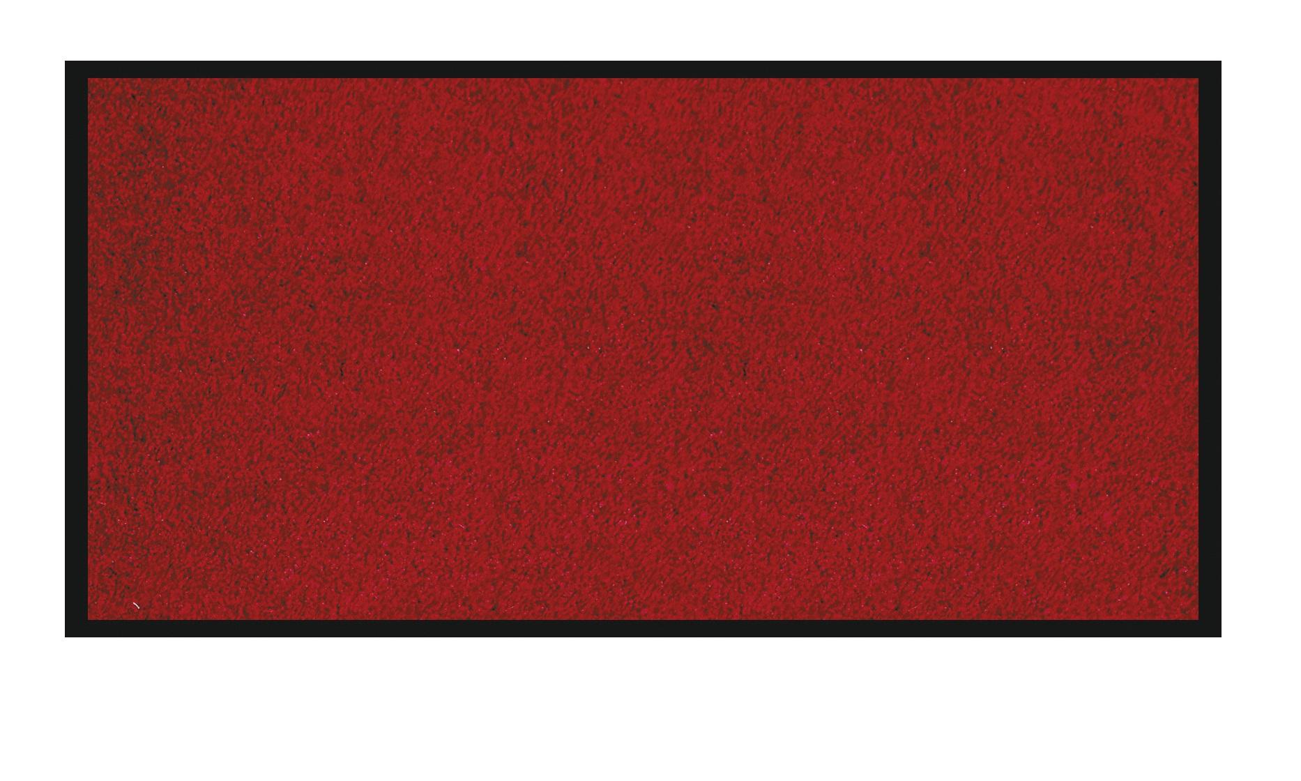 Tapis de sol absorbant RAINBOW - 90 x 150 cm - en polyamide - rouge