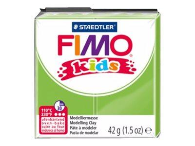 Pâte Fimo Kids  - Rouge Pailleté - 42G