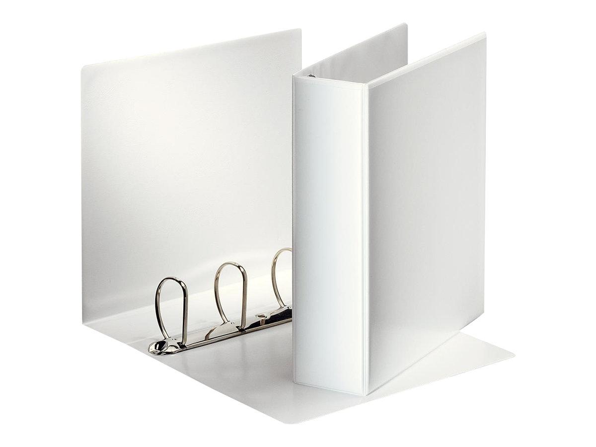 Esselte - Classeur à anneaux personnalisable - Dos 60 mm - A4 - pour 500 feuilles - blanc