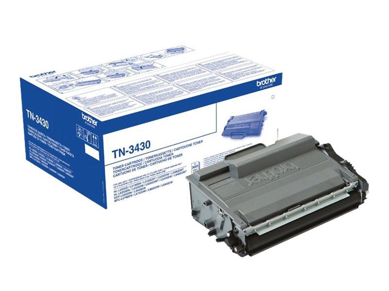 Brother TN3430 - noir - cartouche laser d'origine