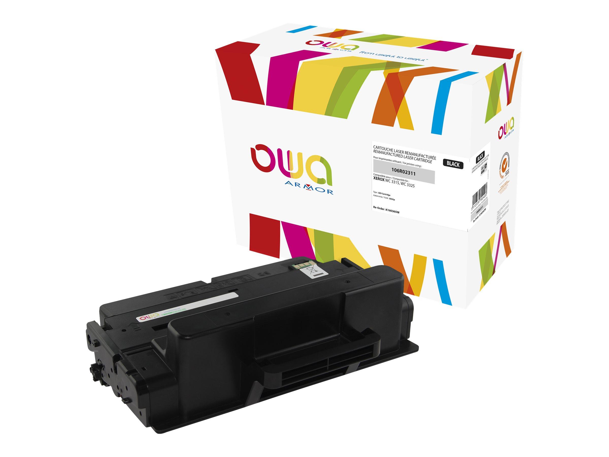 Xerox 106R02310 - remanufacturé OWA K16036OW - noir - cartouche laser