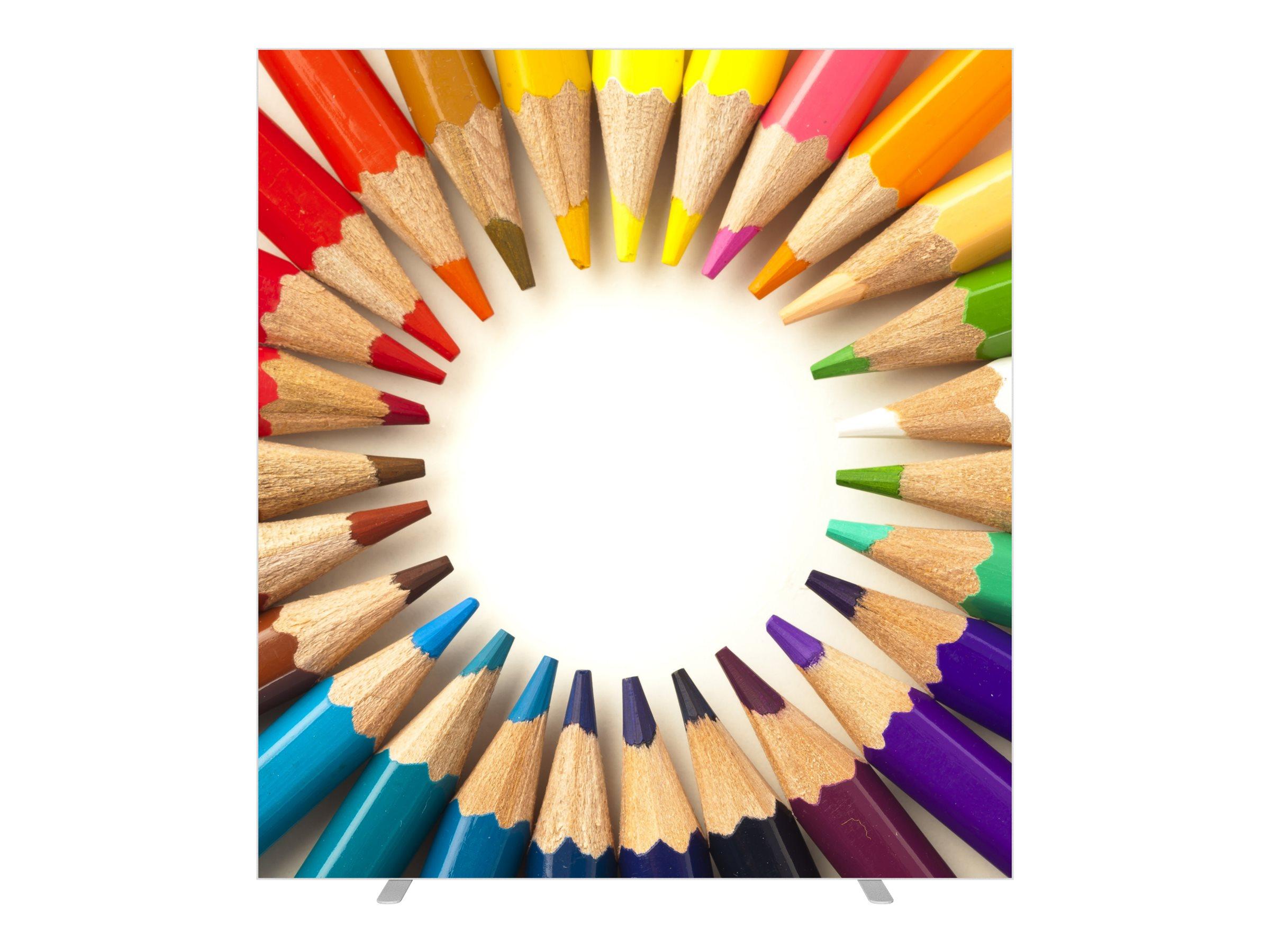 Cloison de séparation EASYSCREEN - L160 x H174 cm - crayons
