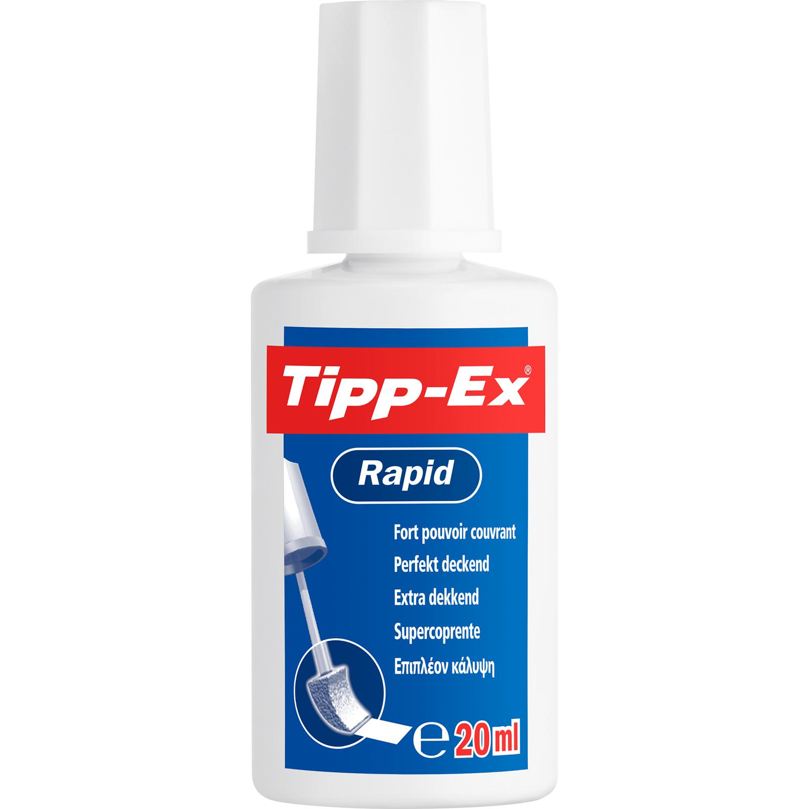 Tipp Ex - Correcteur liquide - Rapid - 20 ml