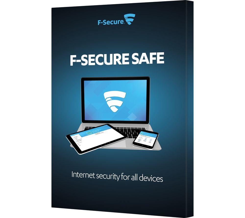 F-Secure SAFE - abonnement 12 mois - 1 utilisateur
