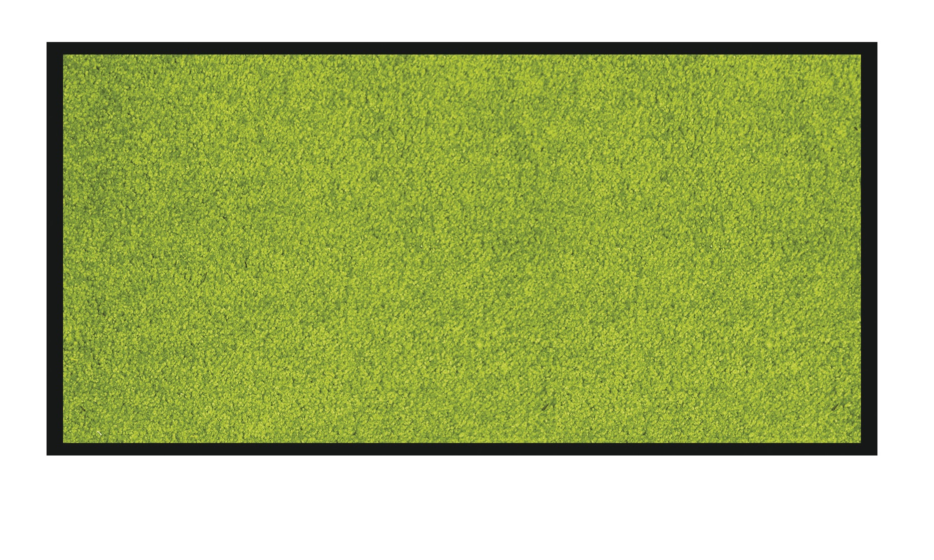 Tapis de sol absorbant RAINBOW - 90 x 150 cm - en polyamide - anis