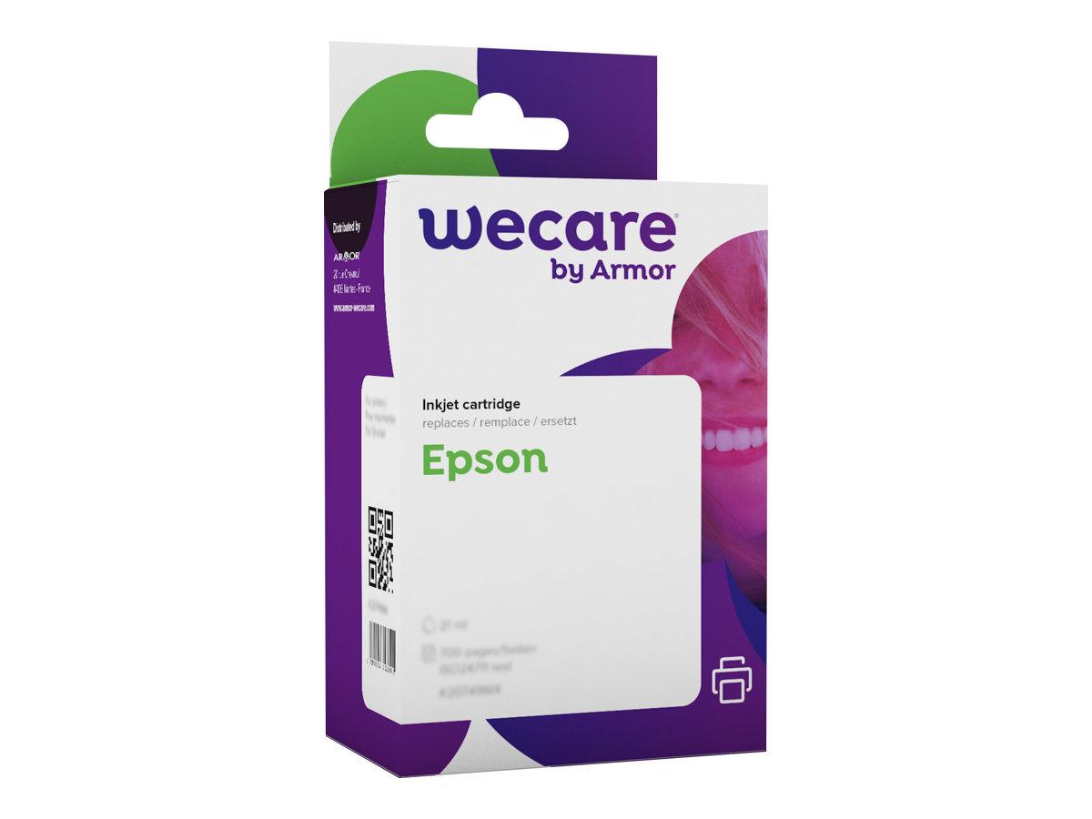 Epson T0520 Boulier - compatible Wecare K12309W4 - cyan, magenta, jaune - cartouche d'encre