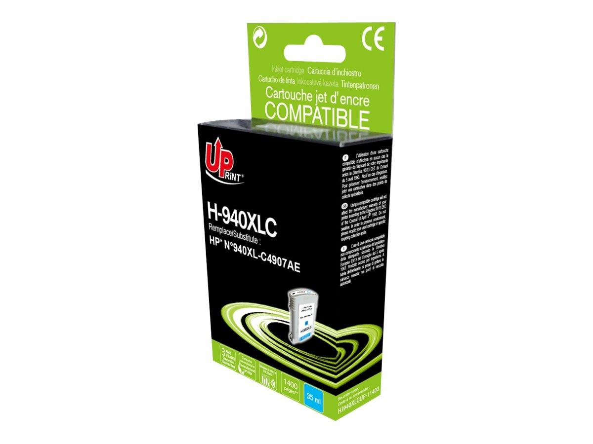 HP 940XL - remanufacturé UPrint H.940XLC - cyan - cartouche d'encre