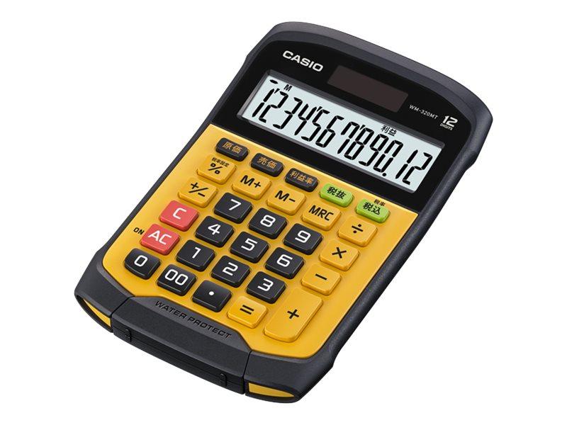 Calculatrice de bureau Casio WM-320MT - 12 chiffres - alimentation batterie et solaire