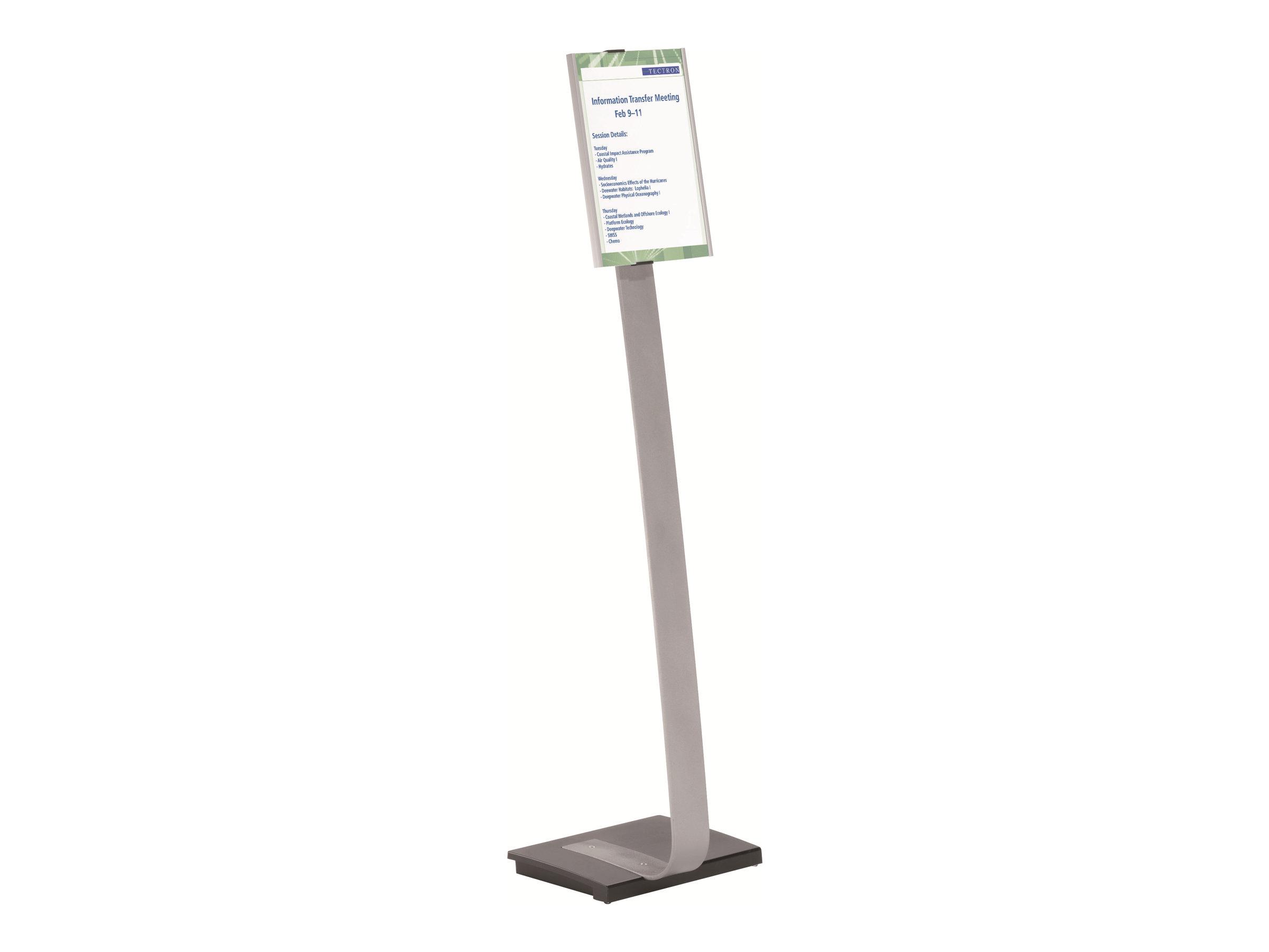Durable Info Sign - Présentoir sur pied - support d'information A4