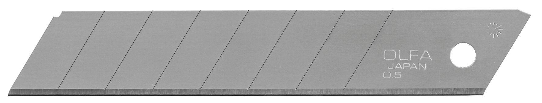OLFA - Etui de 10 lames - pour cutter LB-10B - 18 mm