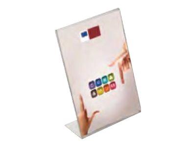 Promocome - Présentoir de comptoir incliné - A3 portrait