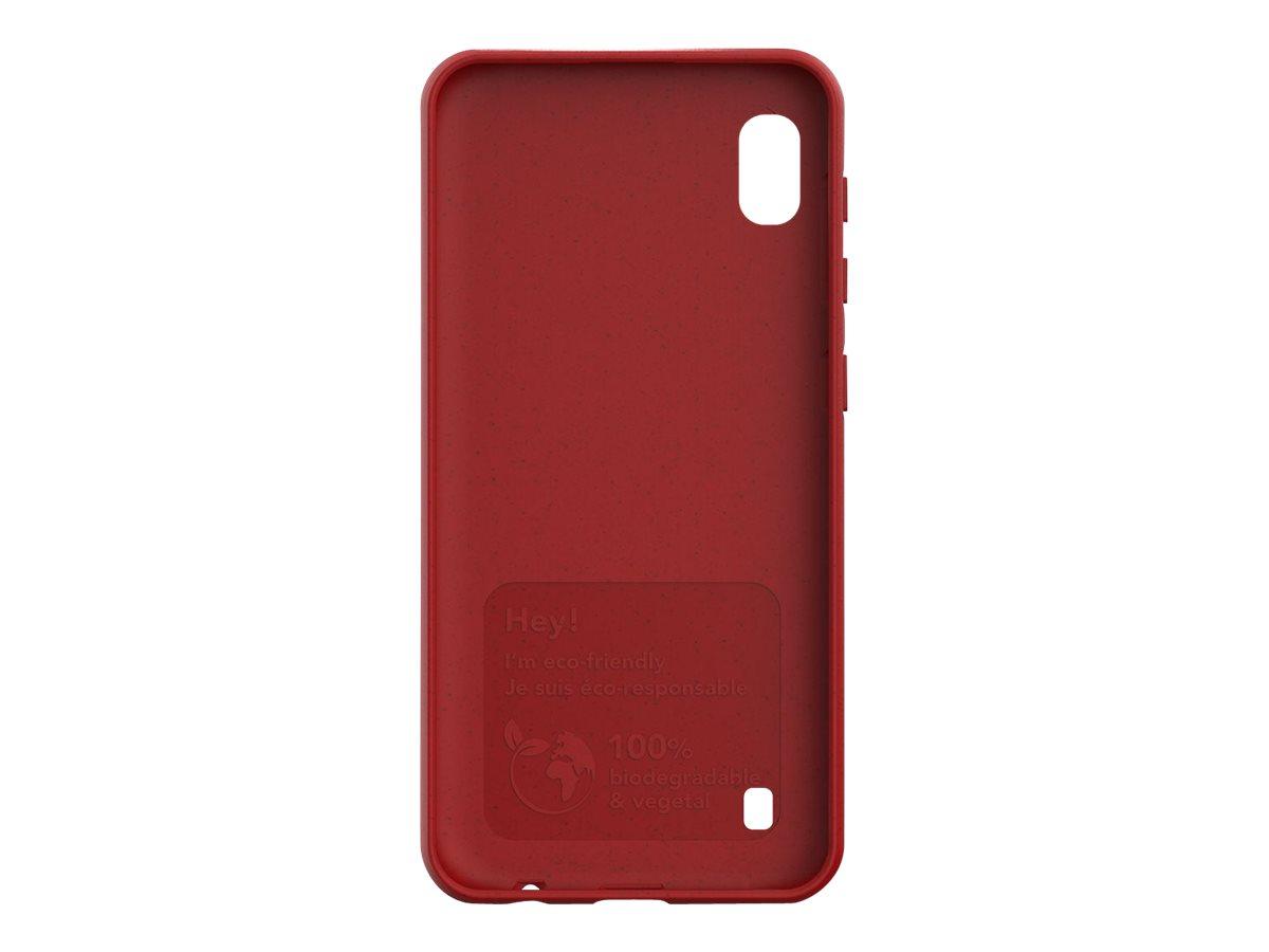 Just Green - Coque de protection pour Samsung A10 - rouge