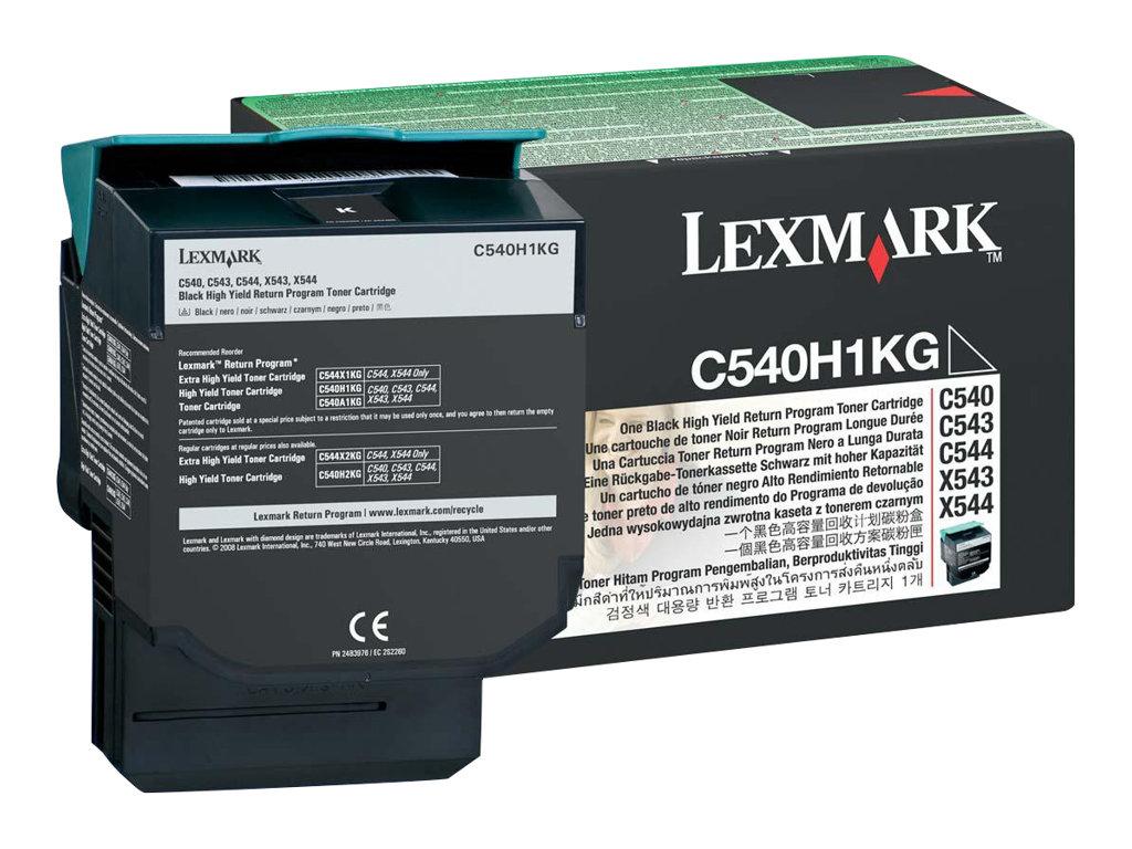 Lexmark C540H1KG - noir - cartouche laser d'origine