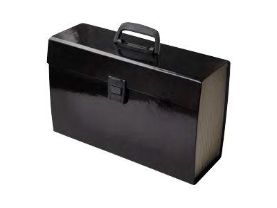 Pierre Henry - Classeur ménager premium (valisette trieur) 20 onglets - noir