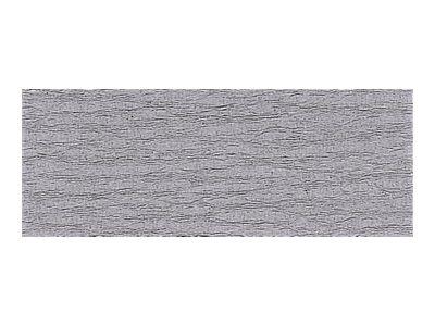 Clairefontaine Premium - Papier crépon - Rouleau 50 cm x 2,5 m - 40 g/m² - gris