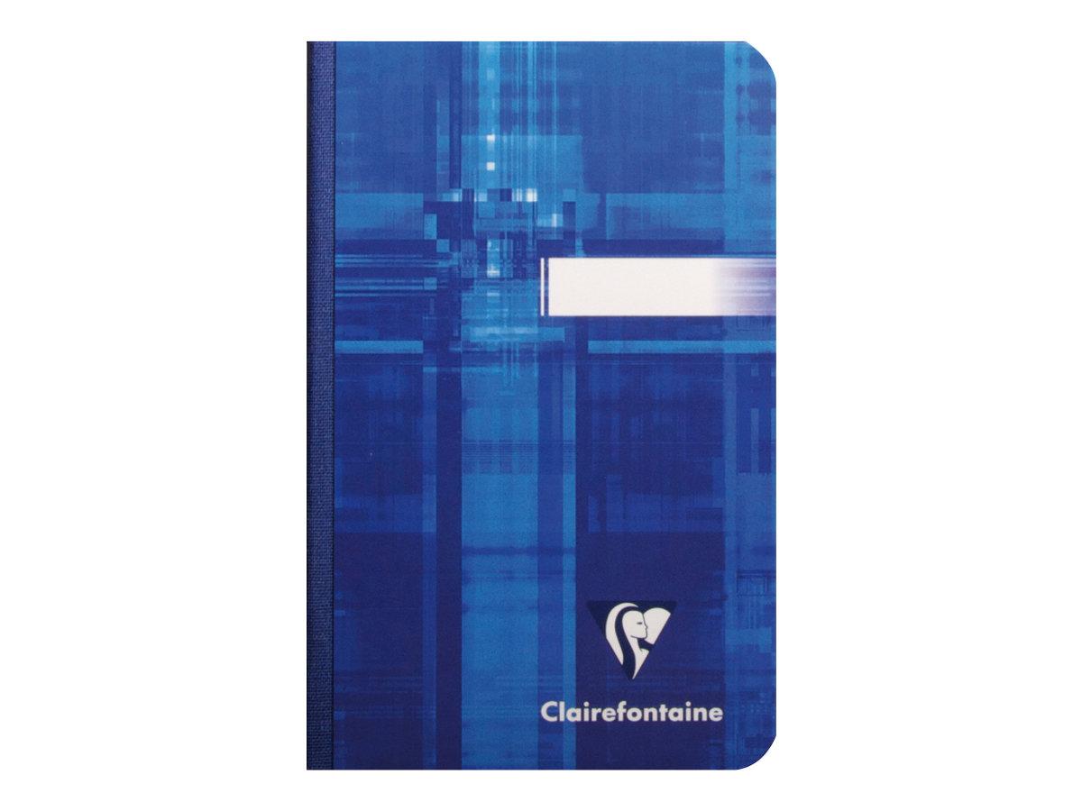 Clairefontaine - Carnet broché 9 x 14 cm - 192 pages - petits carreaux (5x5 mm) - disponible dans différentes couleurs
