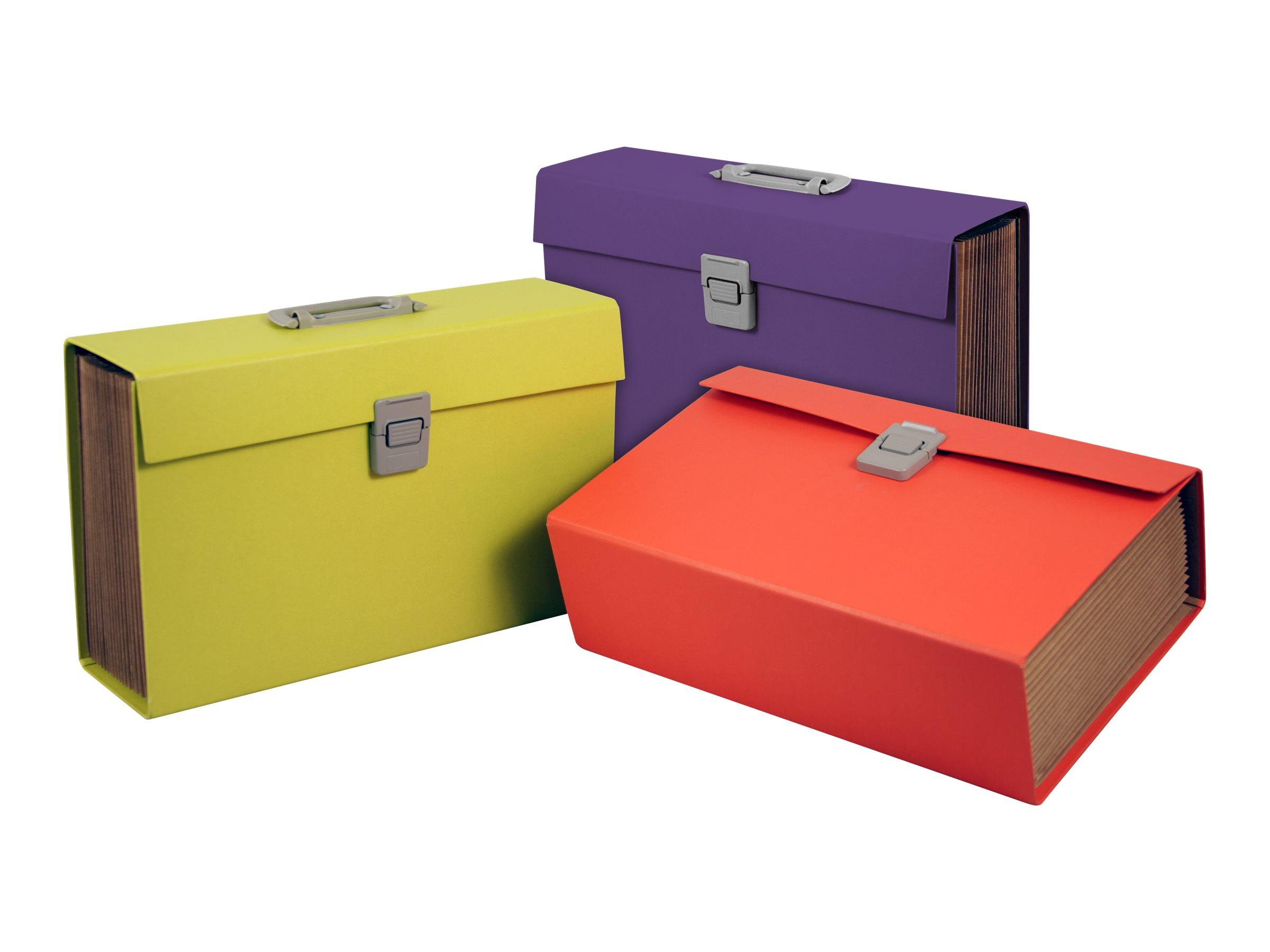 Pierre Henry - Classeur ménager (valisette trieur) 20 onglets - disponible dans différentes couleurs