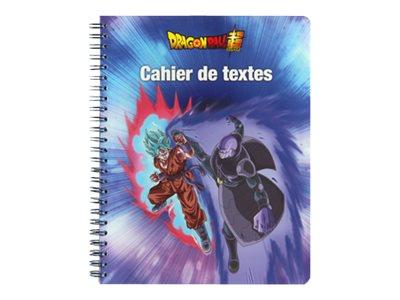 Dragon Ball Super - Cahier de textes à spirale 17 x 22 cm - Clairefontaine
