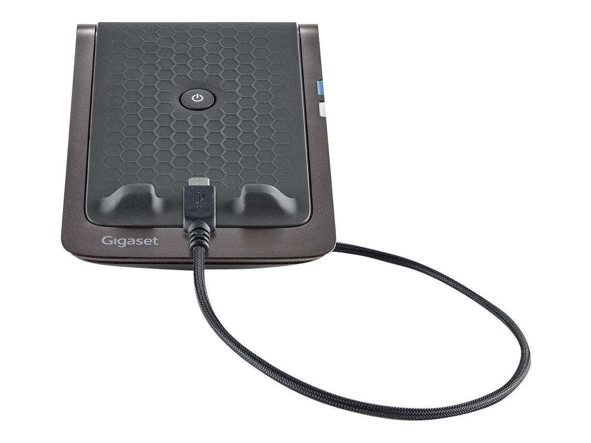 Gigaset MobileDock LM550 - module de charge et transfert d'appel - noir