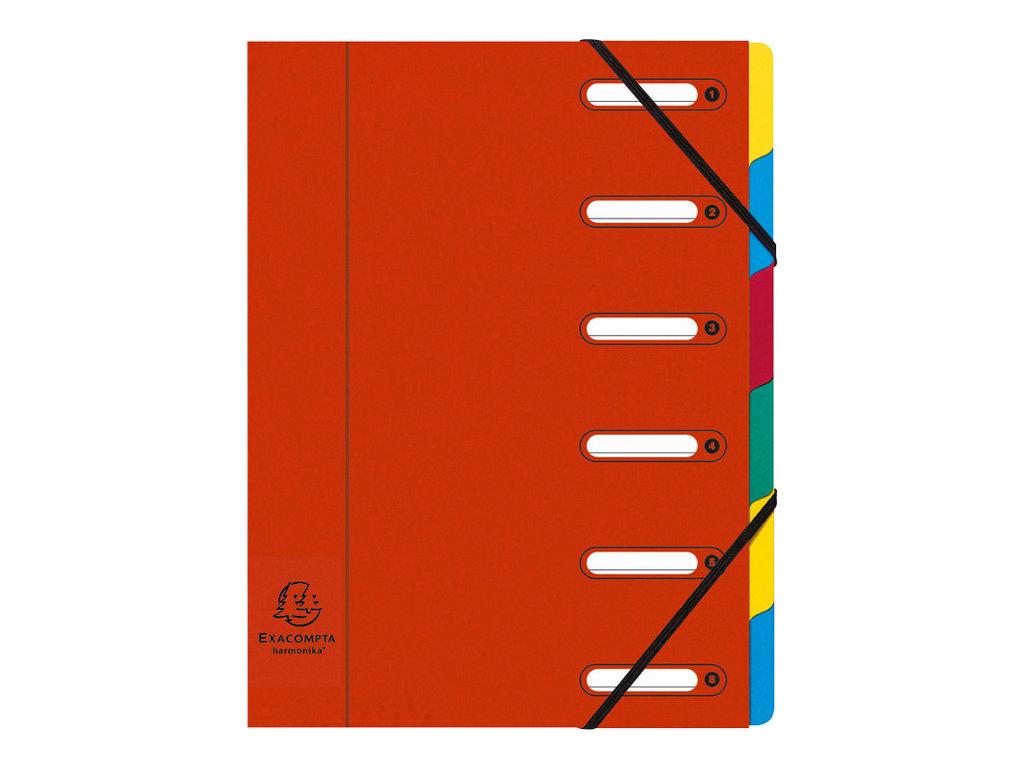 Exacompta Harmonika - Trieur à fenêtres 6 positions - disponible dans différentes couleurs