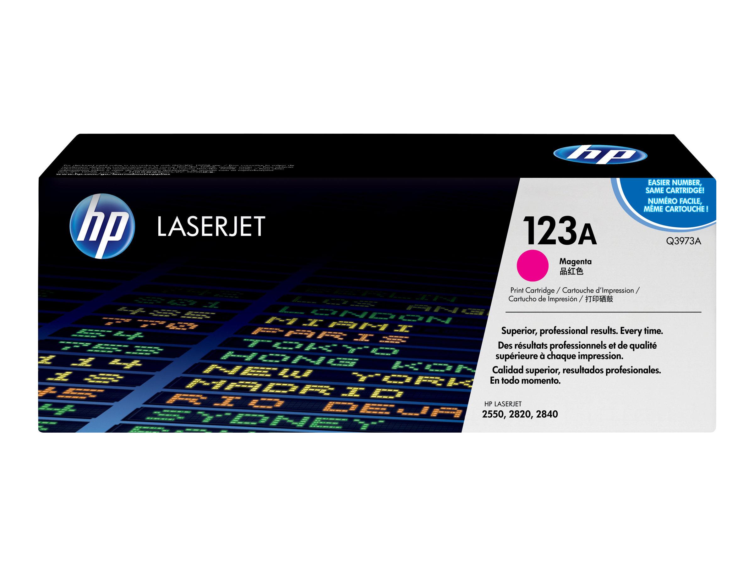 HP 123A - magenta - original - cartouche laser