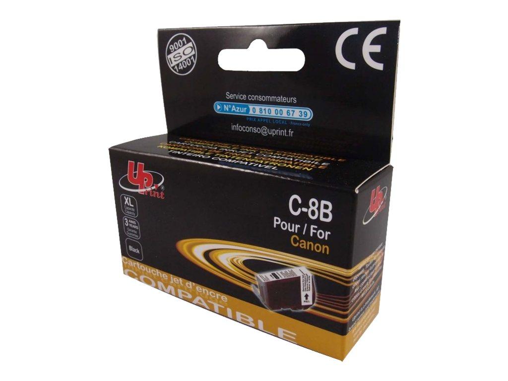 Canon CLI-8 - compatible UPrint C.8B - noir - cartouche d'encre