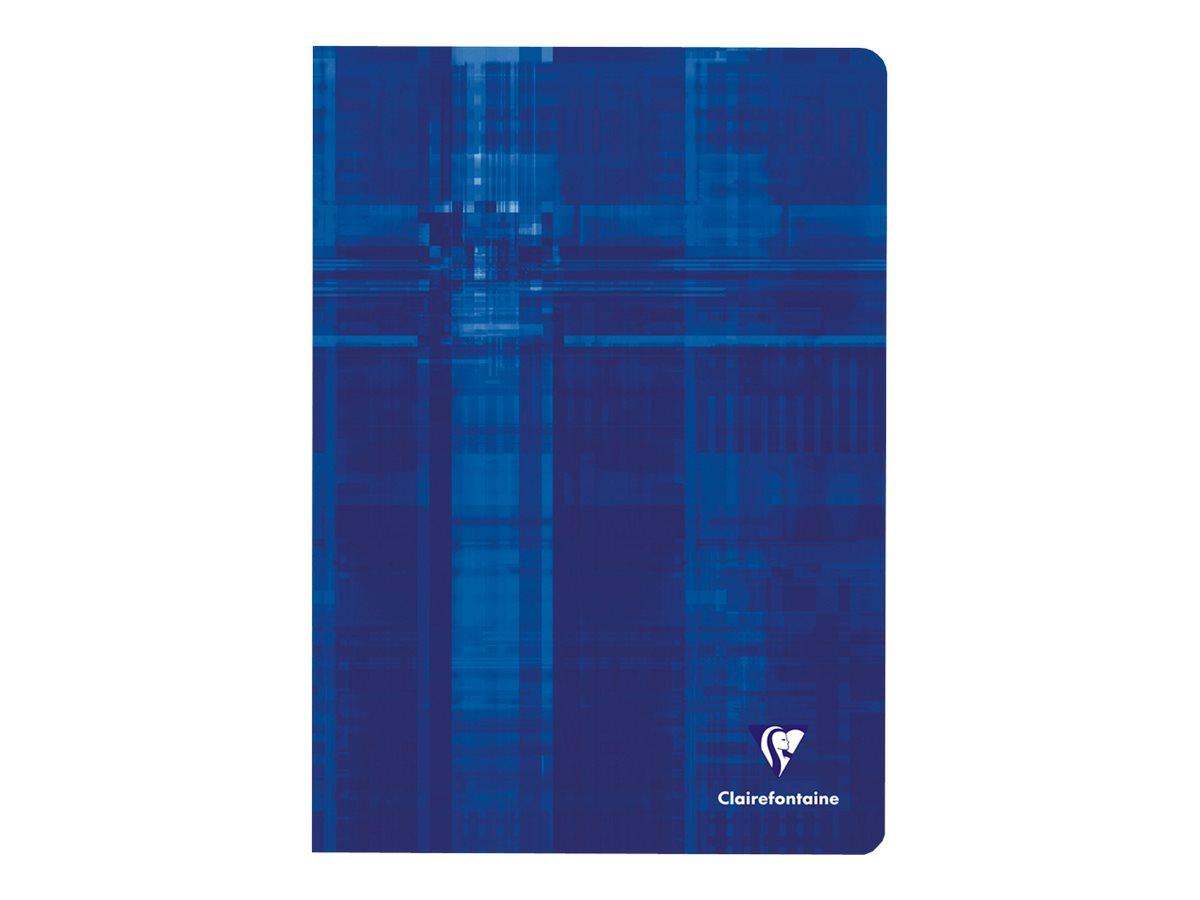 Clairefontaine - Cahier A4 (21x29,7 cm) - 96 pages - petits carreaux (5x5 mm) - disponible dans différentes couleurs