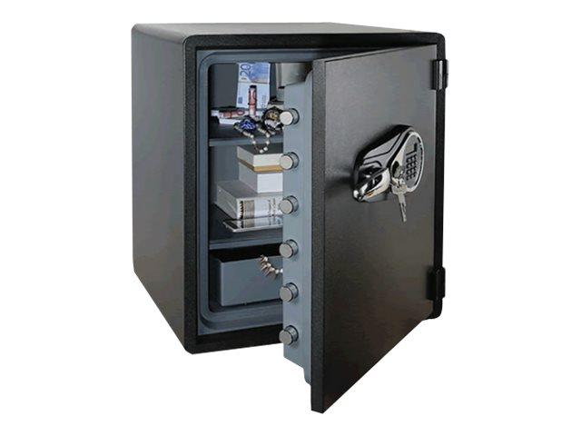 RESKAL WDS60 - Coffre-fort ignifuge - à code - acier - noir