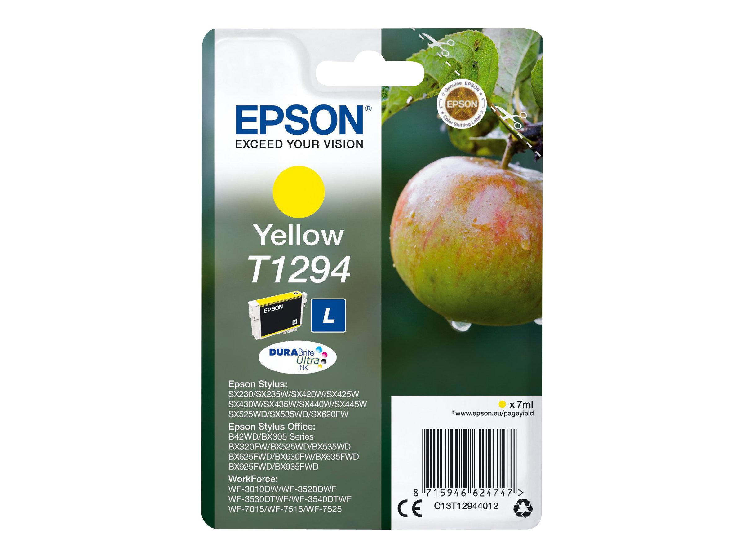 Epson T1294 Pomme - jaune - cartouche d'encre originale