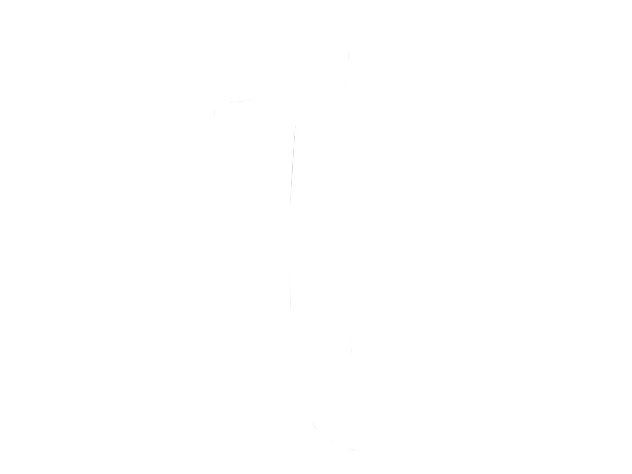 Pickup Déco Zoé - Étiquette autocollante 110 mm - Lettre T - blanc