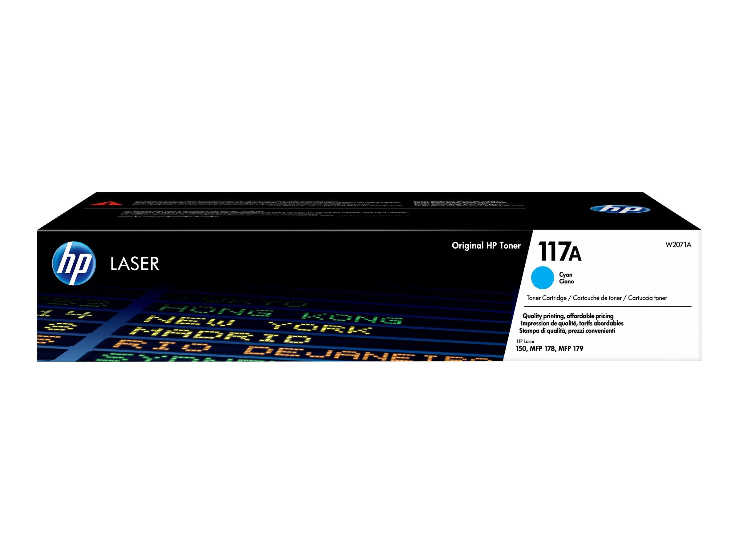 HP 117A - cyan - cartouche laser d'origine