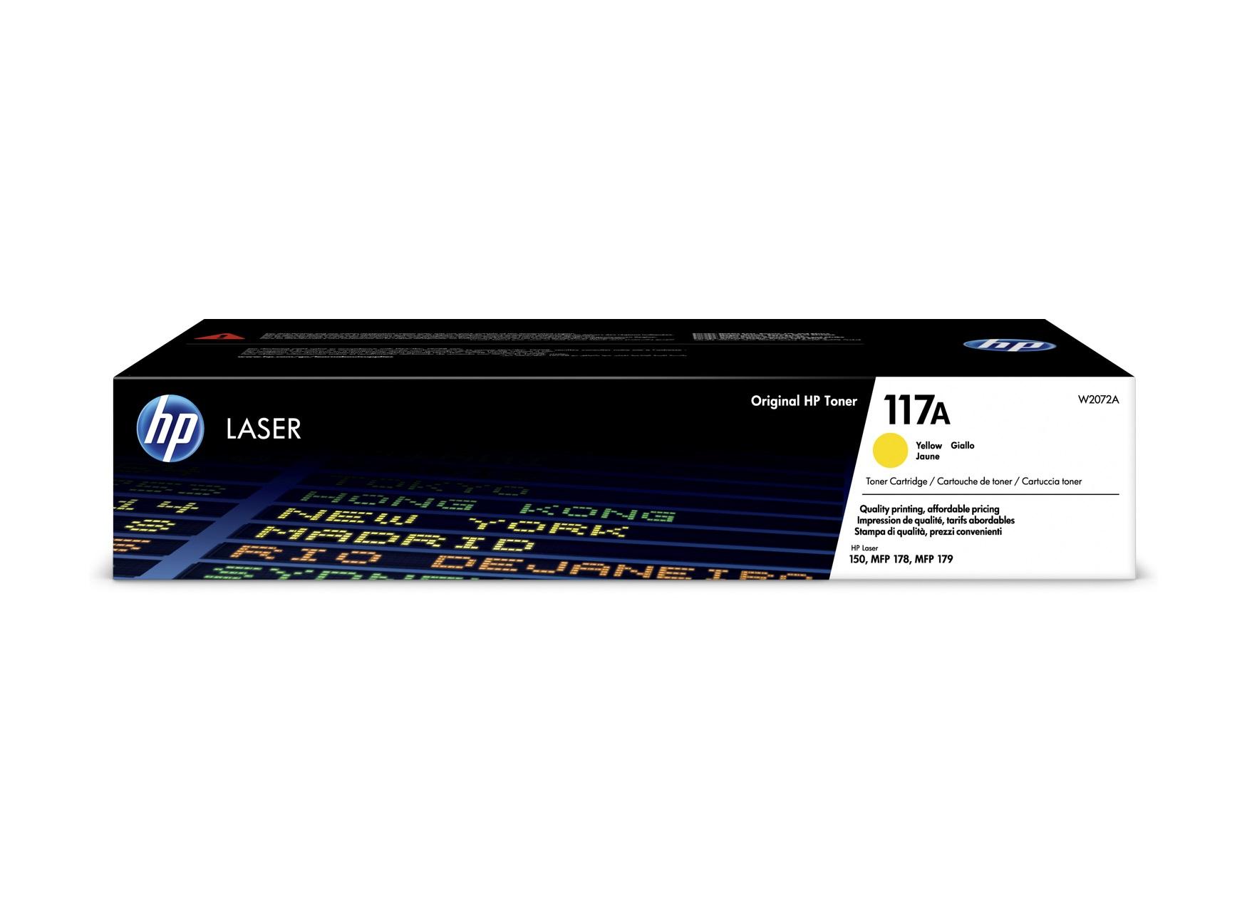 HP 117A - jaune - cartouche laser d'origine