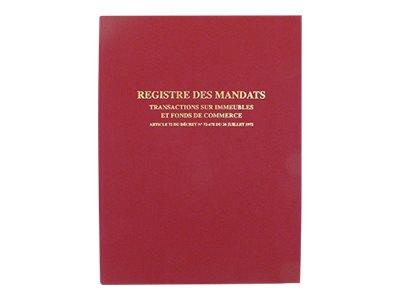 ELVE - Registre de transactions immobilières et fonds de commerce - 32 x 25 cm