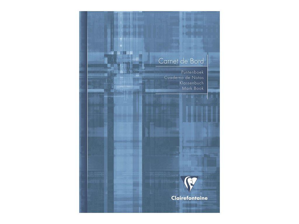 Clairefontaine - Carnet de bord enseignant - A5 - 40 pages - disponible dans différentes couleurs
