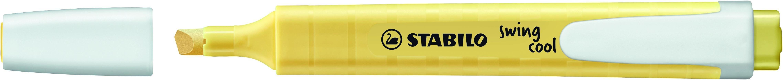 STABILO swing cool Pastel - Surligneur - crème de jaune