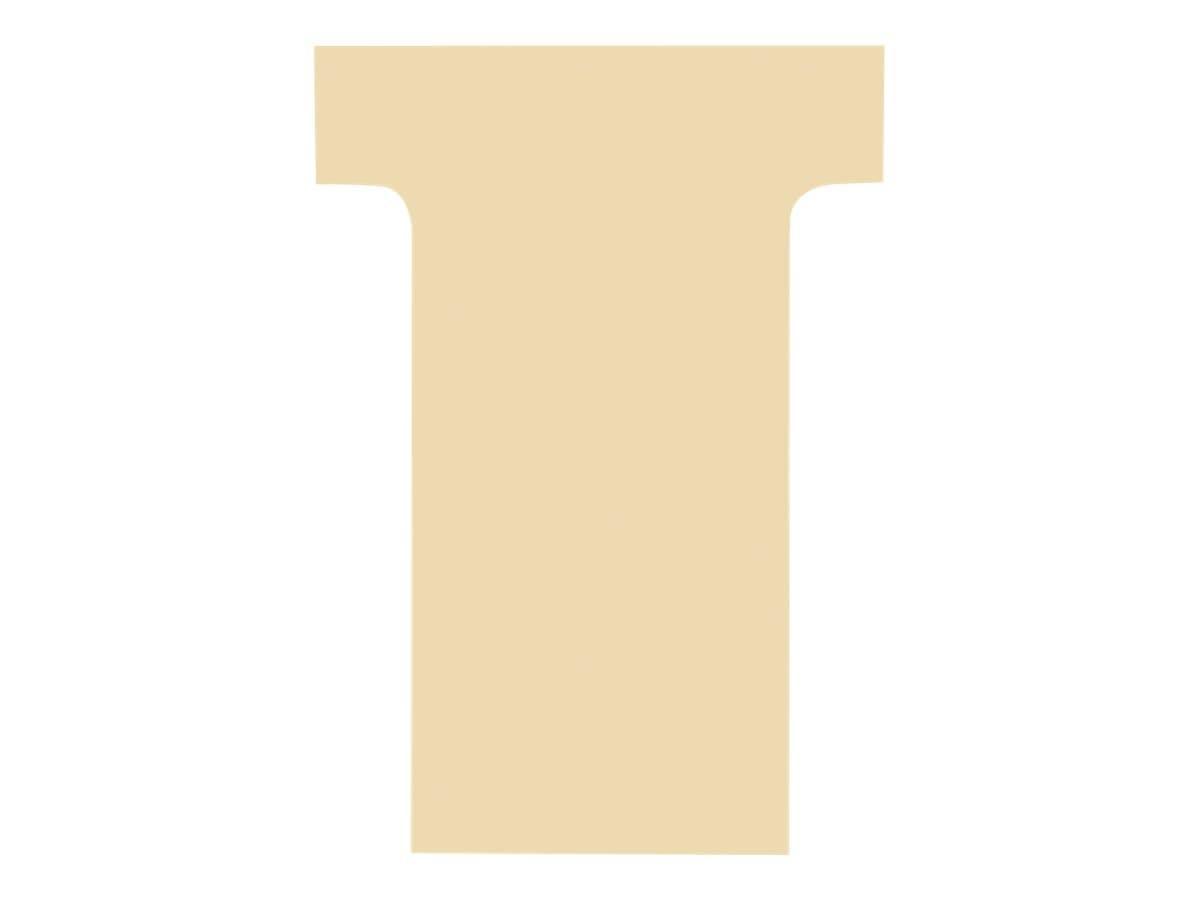 Exacompta - 100 Fiches en T - Taille 2 - havane