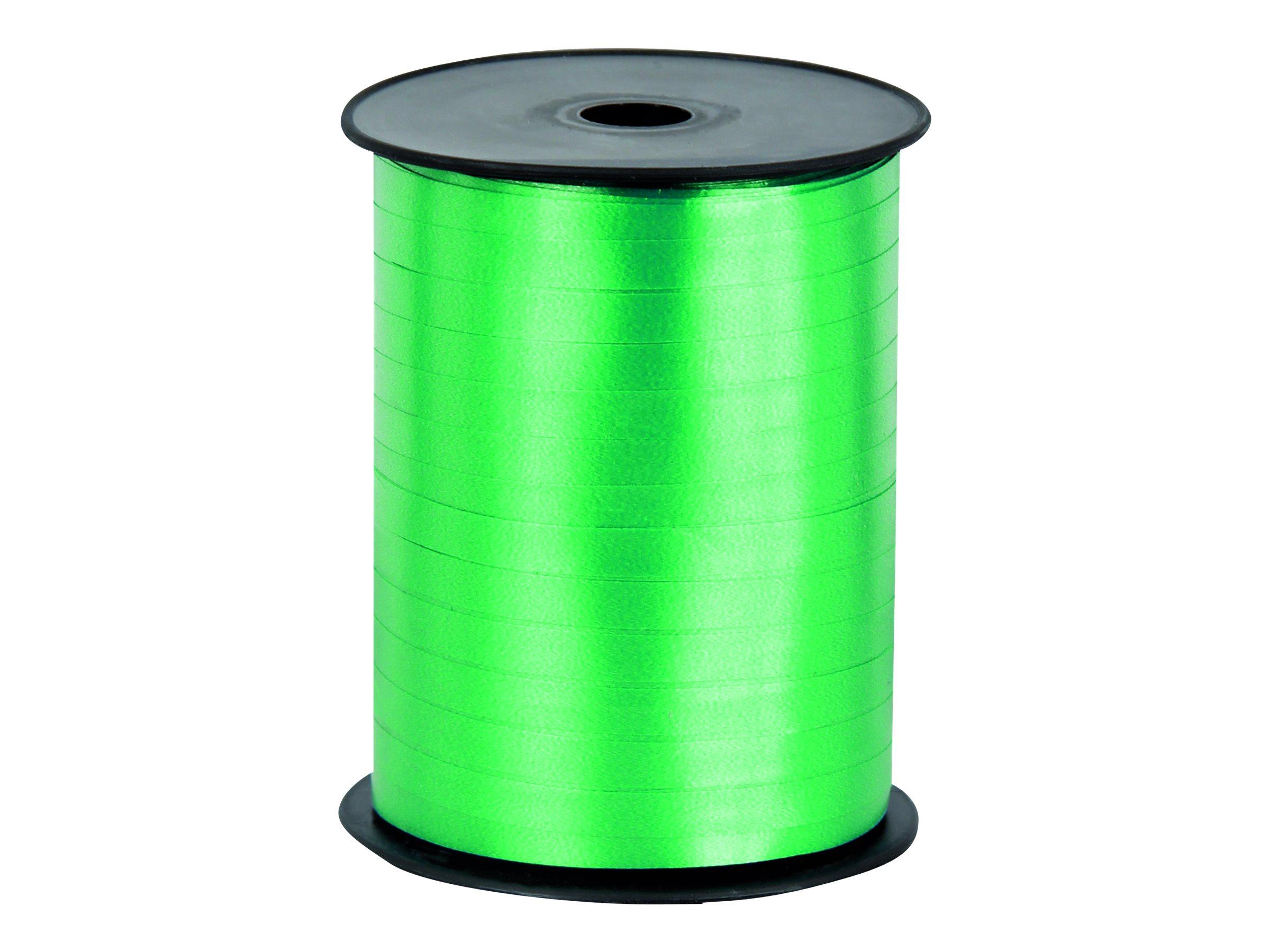Logistipack - Bolduc brillant - ruban d'emballage 7 mm x 500 m - vert