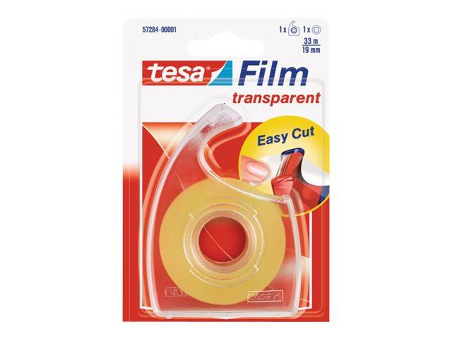Tesa Easy Cut - Dévidoir avec ruban adhésif 33 mm x 19 m