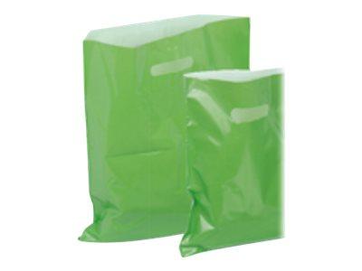 Carton Service - 100 Sacs plastique PDR - 37 x 45 cm - vert