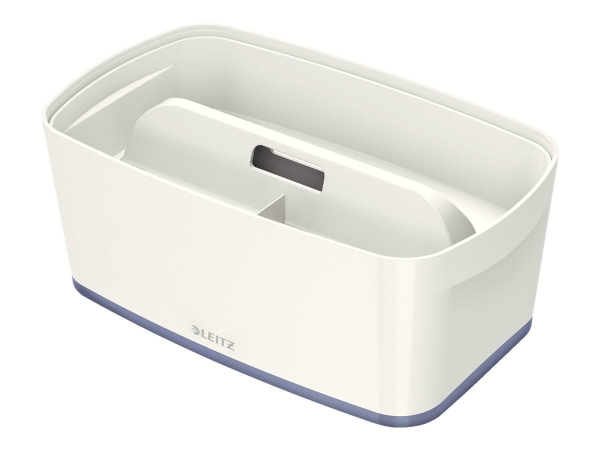 Leitz MyBox - Boîte de rangement petit format - blanc/gris