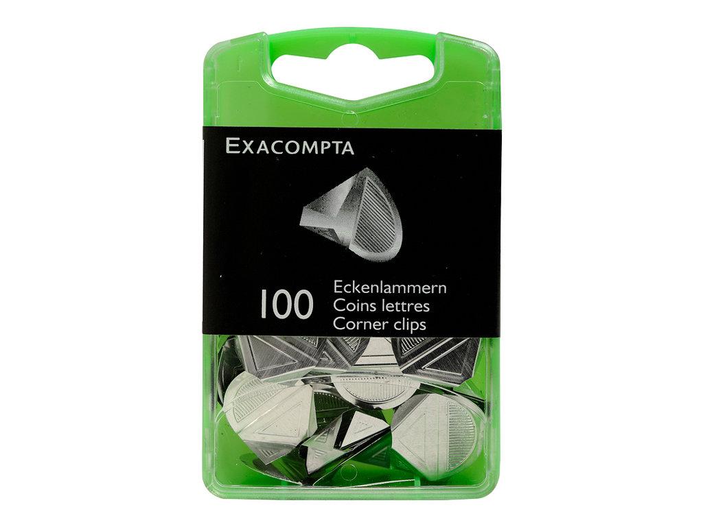 Exacompta - 100 Coins lettres