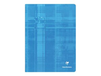 Clairefontaine - Cahier 24 x 32 cm - 48 pages - grands carreaux (Seyes) - disponible dans différentes couleurs
