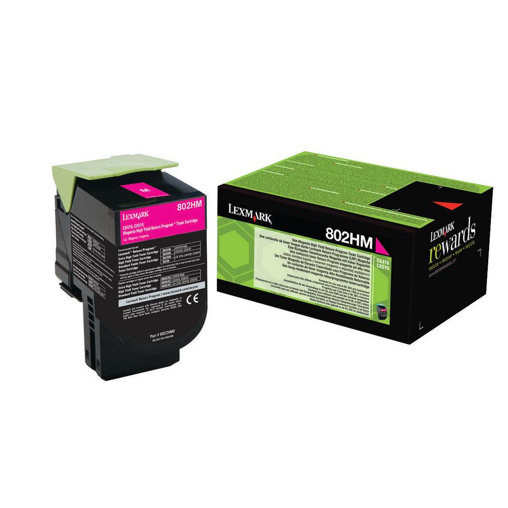 Lexmark 802H - magenta - cartouche laser d'origine
